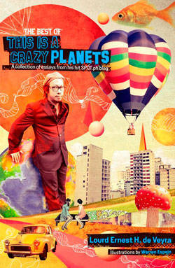 This is a Crazy Planets cover