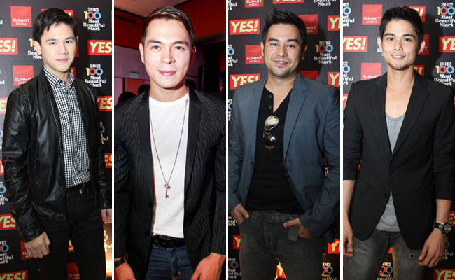 YES! 100 Most Beatiful Stars Special 2012 Press Launch