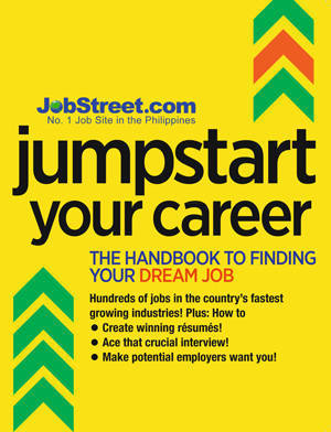 Jumpstart your career now with jobstreet jobstreets jumpstart your career stopboris Image collections