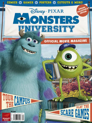 Monsters university magazine now scaring in newsstands for Country living magazine phone number