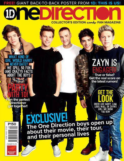 One direction fan magazine hits bookstores nationwide for Country living magazine phone number