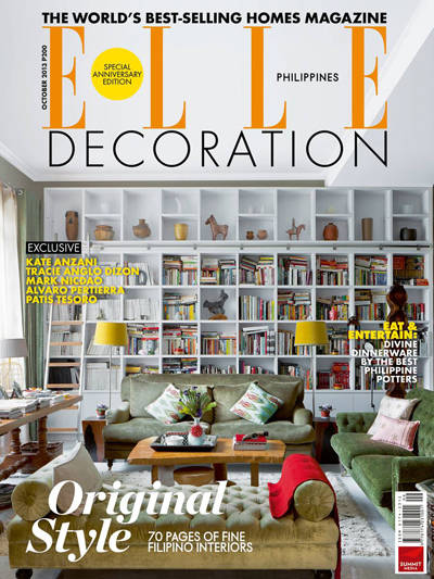 Elle decoration philippines turns one for Elle deco logo