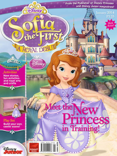 Disney S Sofia The First Magazine Is Out Now