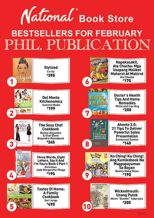 Summit Books dominate National Book Store's Philippine